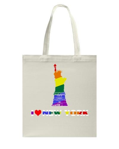 NYC Gay Pride Shirts - I Love New York T-shirt