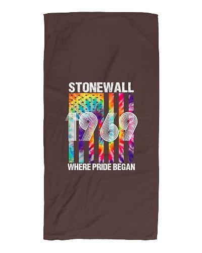 LGBT Stonewall NYC 1969 Gay Pride American Flag