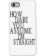 How Dare You Assume I'm Straight Tank  Phone Case thumbnail