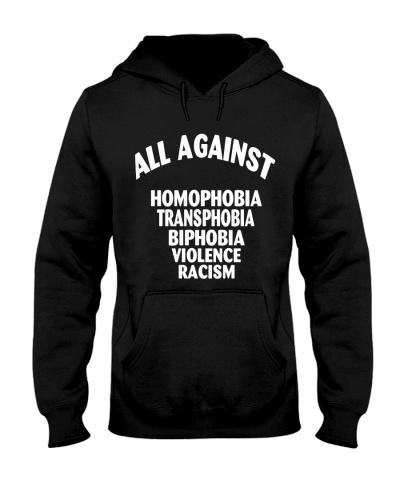 Against Homophobia Transphobia LGBT Pride T-Shirts