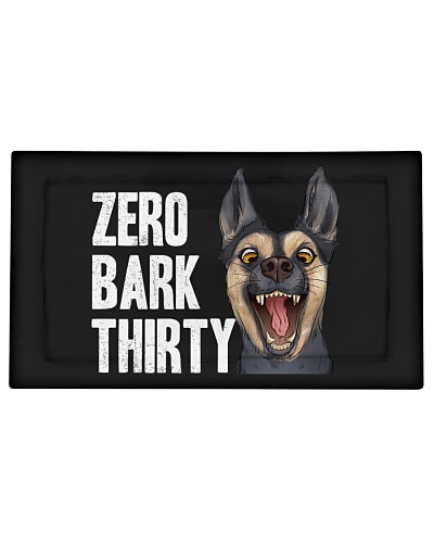 Zero Bark Thirty Hero Dog Political T Shirt Gifts