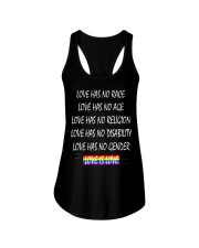 Love Has No Race Love Has No Age LGBT Pride TShirt Ladies Flowy Tank thumbnail