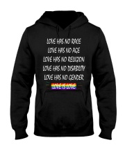 Love Has No Race Love Has No Age LGBT Pride TShirt Hooded Sweatshirt thumbnail
