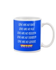 Love Has No Race Love Has No Age LGBT Pride TShirt Mug thumbnail