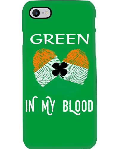 St Patrick's Day T-Shirts Green In My Blood Shirt