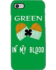 St Patrick's Day T-Shirts Green In My Blood Shirt Phone Case thumbnail