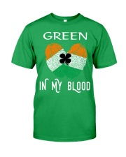 St Patrick's Day T-Shirts Green In My Blood Shirt Classic T-Shirt front