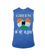 St Patrick's Day T-Shirts Green In My Blood Shirt Sleeveless Tee thumbnail