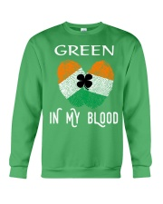 St Patrick's Day T-Shirts Green In My Blood Shirt Crewneck Sweatshirt tile
