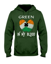 St Patrick's Day T-Shirts Green In My Blood Shirt Hooded Sweatshirt thumbnail