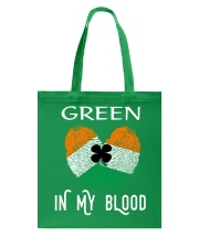 St Patrick's Day T-Shirts Green In My Blood Shirt Tote Bag thumbnail