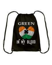 St Patrick's Day T-Shirts Green In My Blood Shirt Drawstring Bag tile