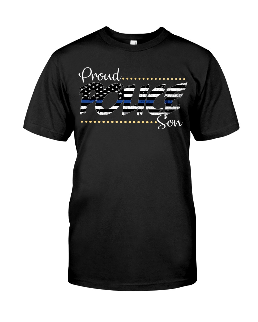 Proud Police Son Classic T-Shirt