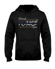 Proud Police Son Hooded Sweatshirt thumbnail