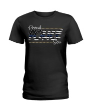 Proud Police Son Ladies T-Shirt thumbnail