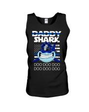 daddy shark Unisex Tank thumbnail