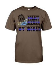 world police Classic T-Shirt tile