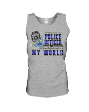 world police Unisex Tank thumbnail