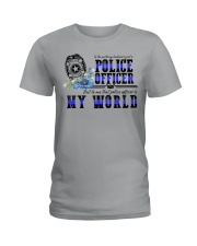 world police Ladies T-Shirt front