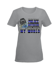 world police Ladies T-Shirt women-premium-crewneck-shirt-front