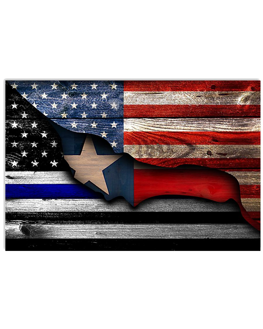 texas-police-american 36x24 Poster