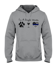 Paw Wine Police Hooded Sweatshirt tile