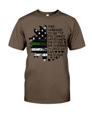 Storm Thin Green Line Classic T-Shirt thumbnail
