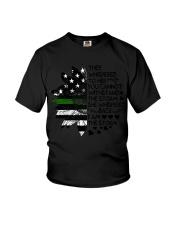 Storm Thin Green Line Youth T-Shirt thumbnail