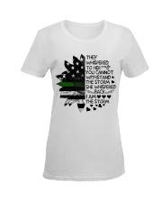 Storm Thin Green Line Ladies T-Shirt women-premium-crewneck-shirt-front