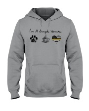 Simple Woman Dispatcher Hooded Sweatshirt thumbnail