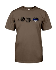 Paw - Beer - Police Classic T-Shirt thumbnail