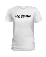 Paw - Beer - Police Ladies T-Shirt front
