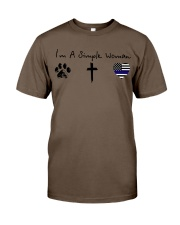 Paw Cross Police Classic T-Shirt thumbnail