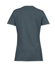 Paw Cross Police Ladies T-Shirt women-premium-crewneck-shirt-back