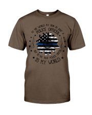 My Police Officer Son Classic T-Shirt thumbnail