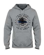 My Police Officer Son Hooded Sweatshirt thumbnail