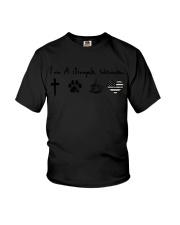 Storm camo Youth T-Shirt thumbnail