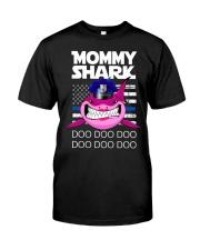 Pink Mommy Shark Classic T-Shirt thumbnail