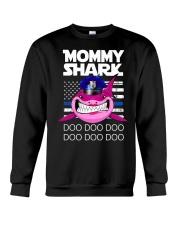 Pink Mommy Shark Crewneck Sweatshirt thumbnail