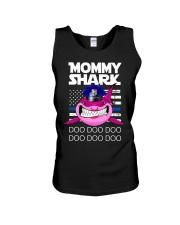 Pink Mommy Shark Unisex Tank thumbnail