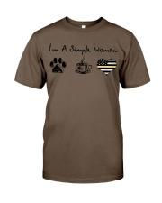 Simple Woman Dispatcher Classic T-Shirt thumbnail