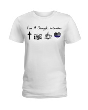 Order Simple Woman Ladies T-Shirt front