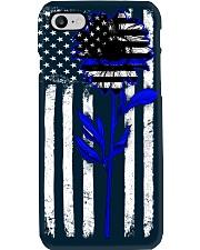 blue sunflower Phone Case i-phone-7-case