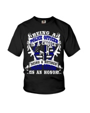Retired Police Officer Youth T-Shirt thumbnail
