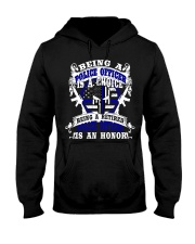 Retired Police Officer Hooded Sweatshirt thumbnail