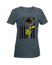 Sunflower Dispatch Ladies T-Shirt women-premium-crewneck-shirt-front