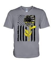Sunflower Dispatch V-Neck T-Shirt thumbnail