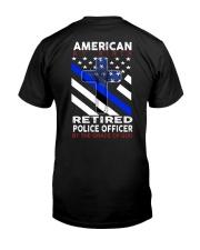 Retired - Back Classic T-Shirt back