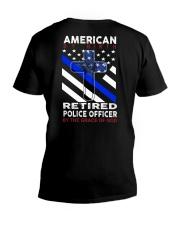 Retired - Back V-Neck T-Shirt thumbnail