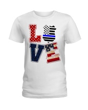 LOVE Ladies T-Shirt front